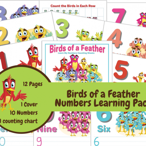Learn My Numbers Counting Sheets