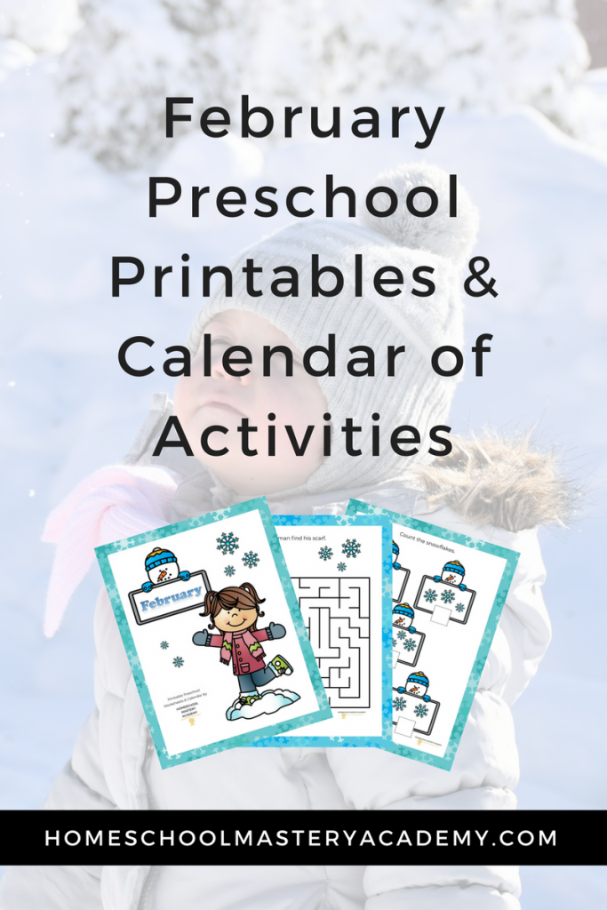 Your preschooler will love learning about the magic of snow with our February preschool activity packet. Learn outdoors and inside with hands-on activities, crafts, and engaging children's literature all about snow.