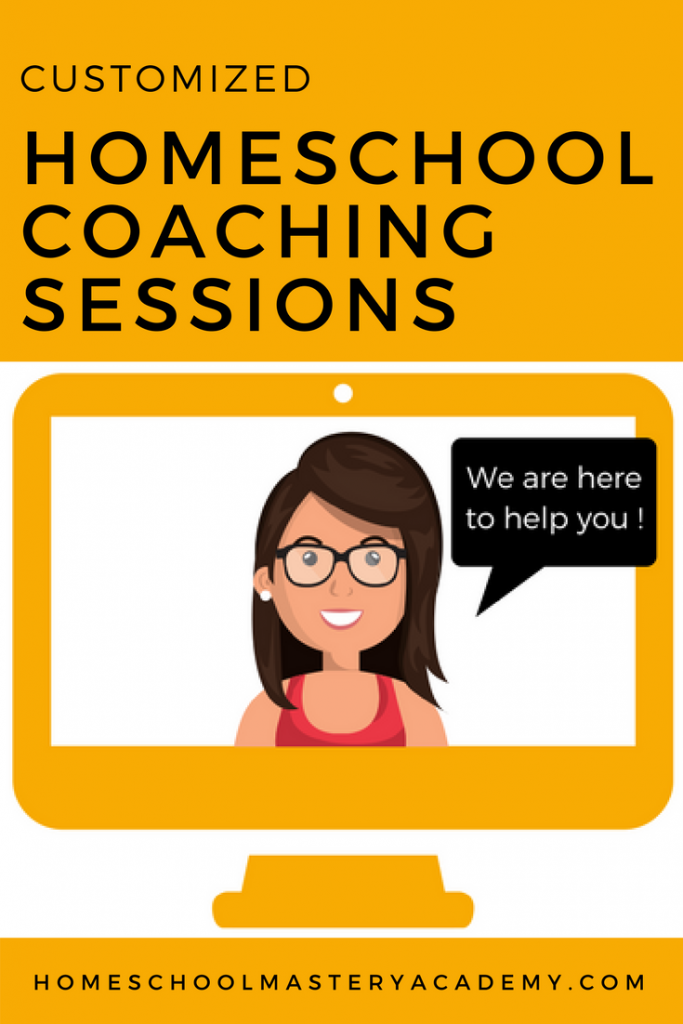 Homeschool Coaching Sessions
