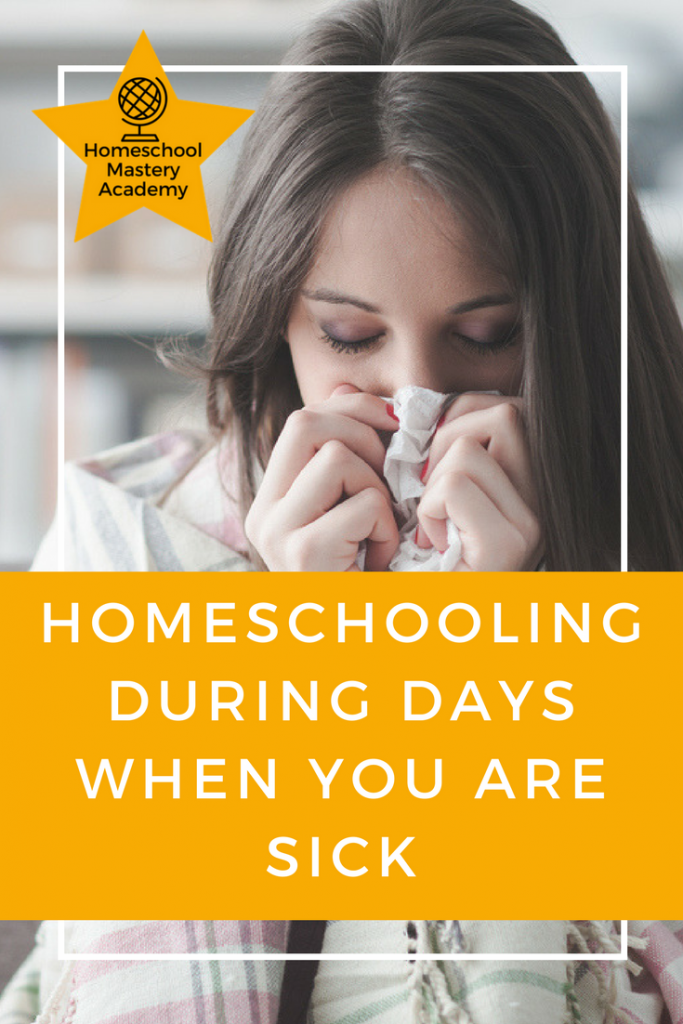 Homeschooling During Days When You are Sick