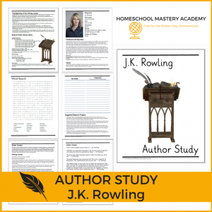 J.K. Rowling Author Study Guide