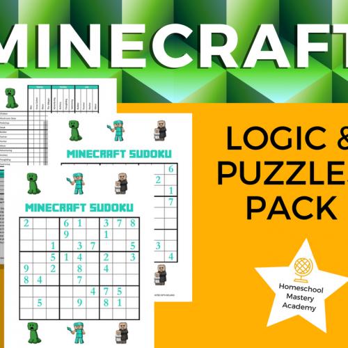 Minecraft Logic & Puzzles Pack