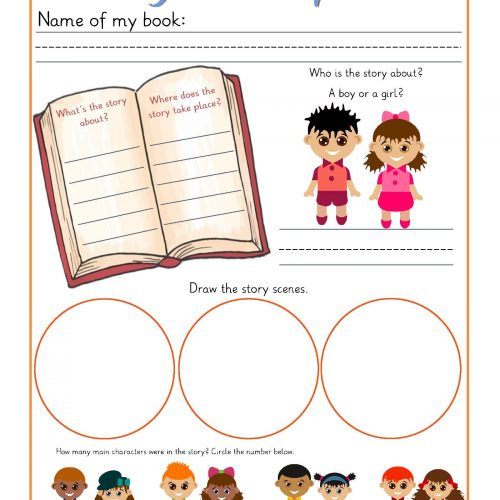 Guided Reading Book Report Printable Pack