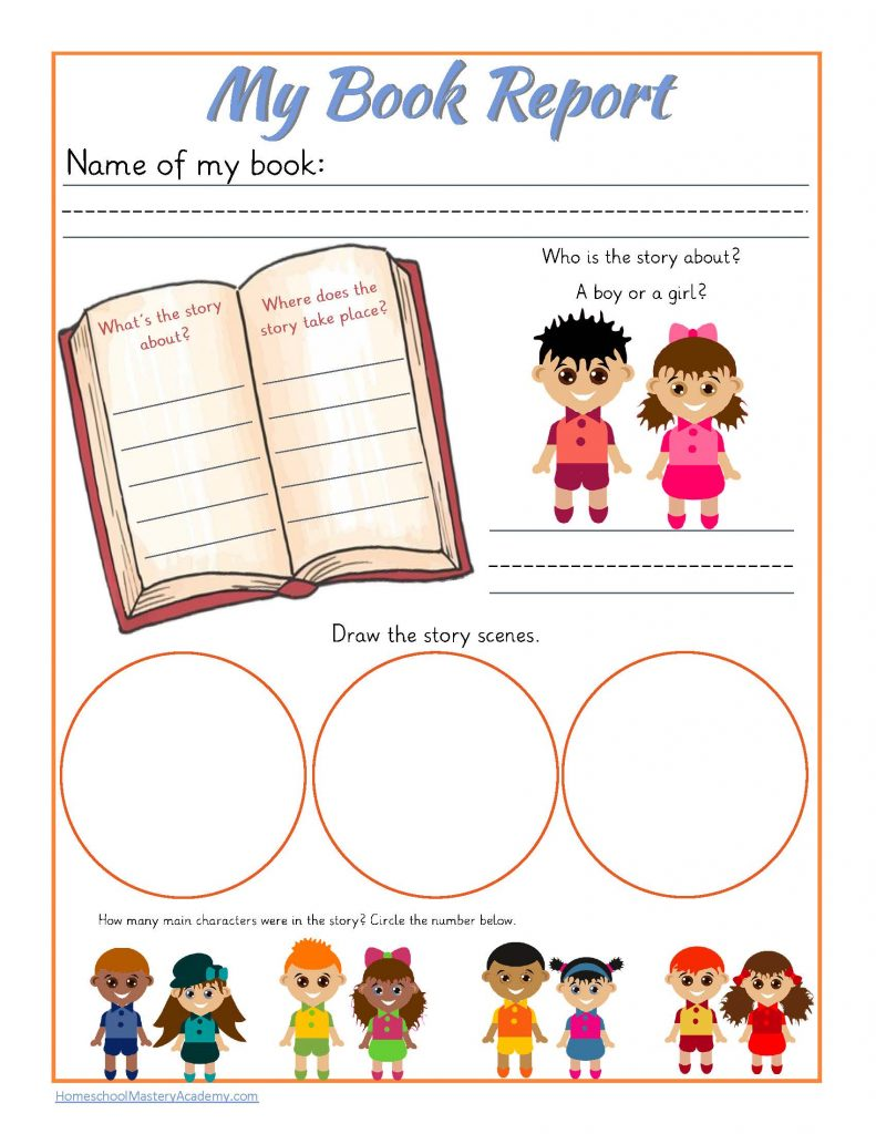 This is a picture of Légend Book Report Printable