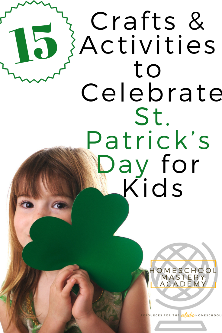 15 Crafts Activities To Celebrate St Patrick S Day For Kids