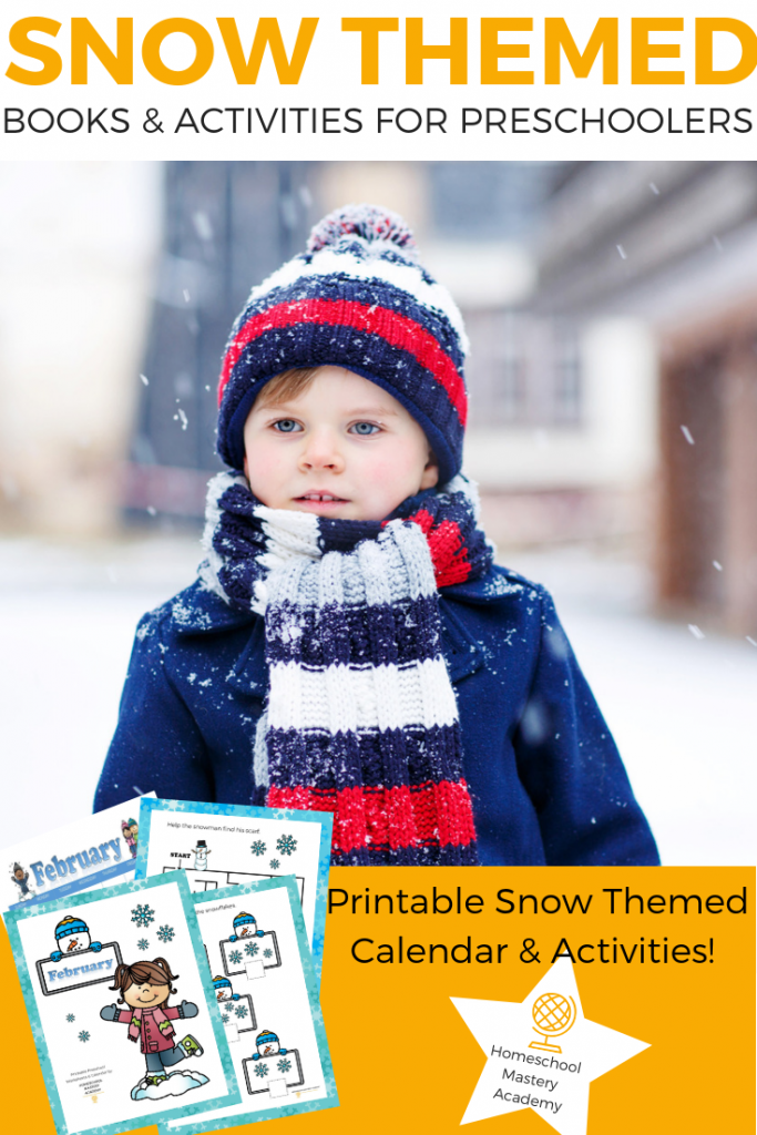 It's Time to Learn About Snow with Your Preschooler