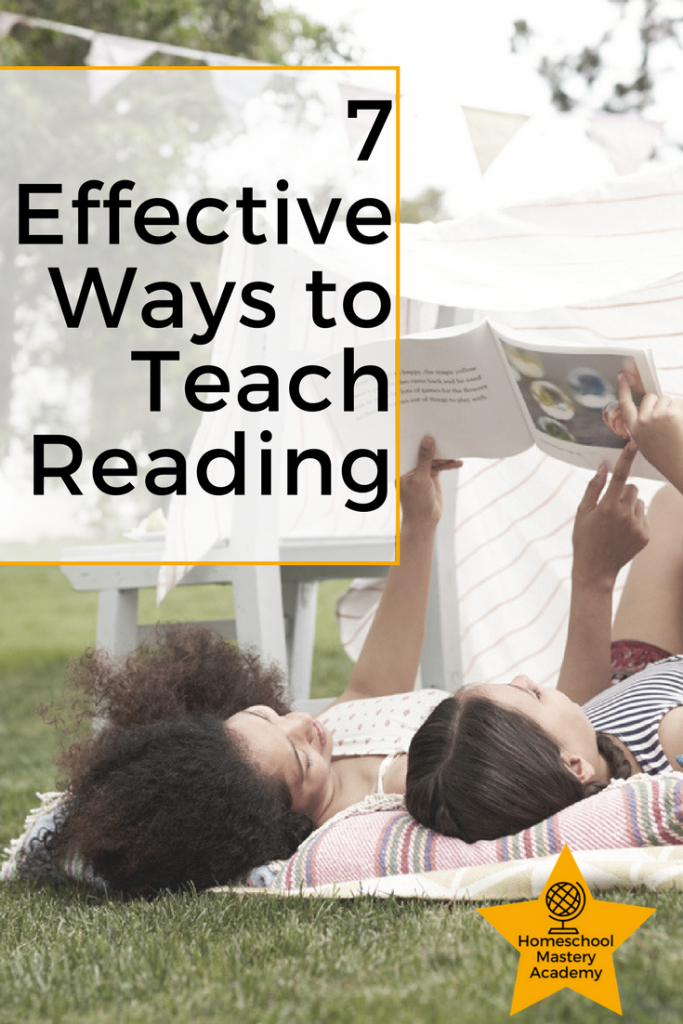 Seven Effective Ways to Teach Reading