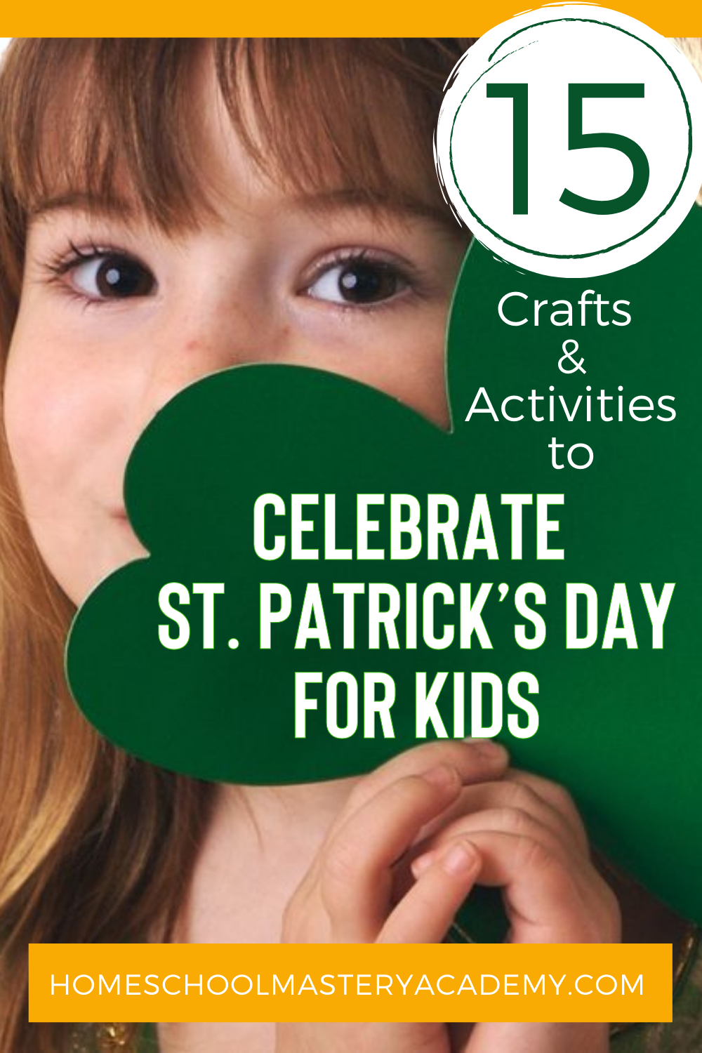 15 Crafts & Activities to Celebrate St. Patrick's Day for Kids. Hands on crafts, printables, and food to learn and have fun!