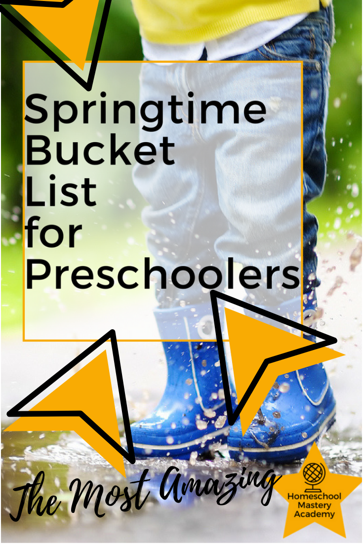 The Most Amazing Springtime Bucket List for Preschoolers