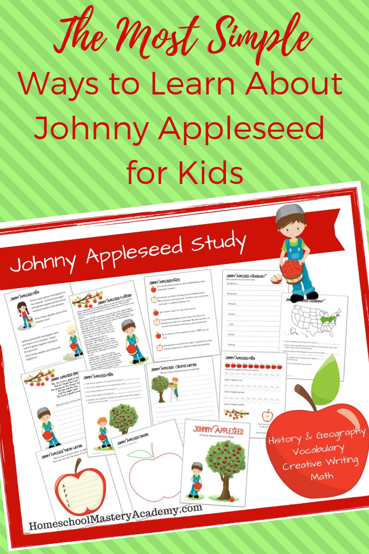 The Most Simple Ways to Learn About Johnny Appleseed for Kids