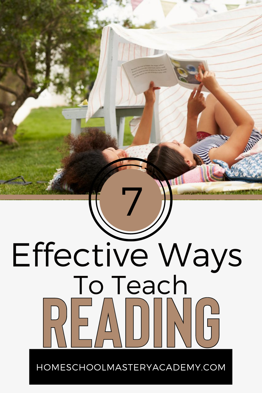 Ways to Teach Reading