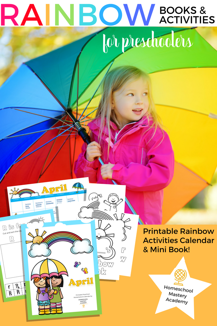 Rainbow Books & Activities for Preschoolers