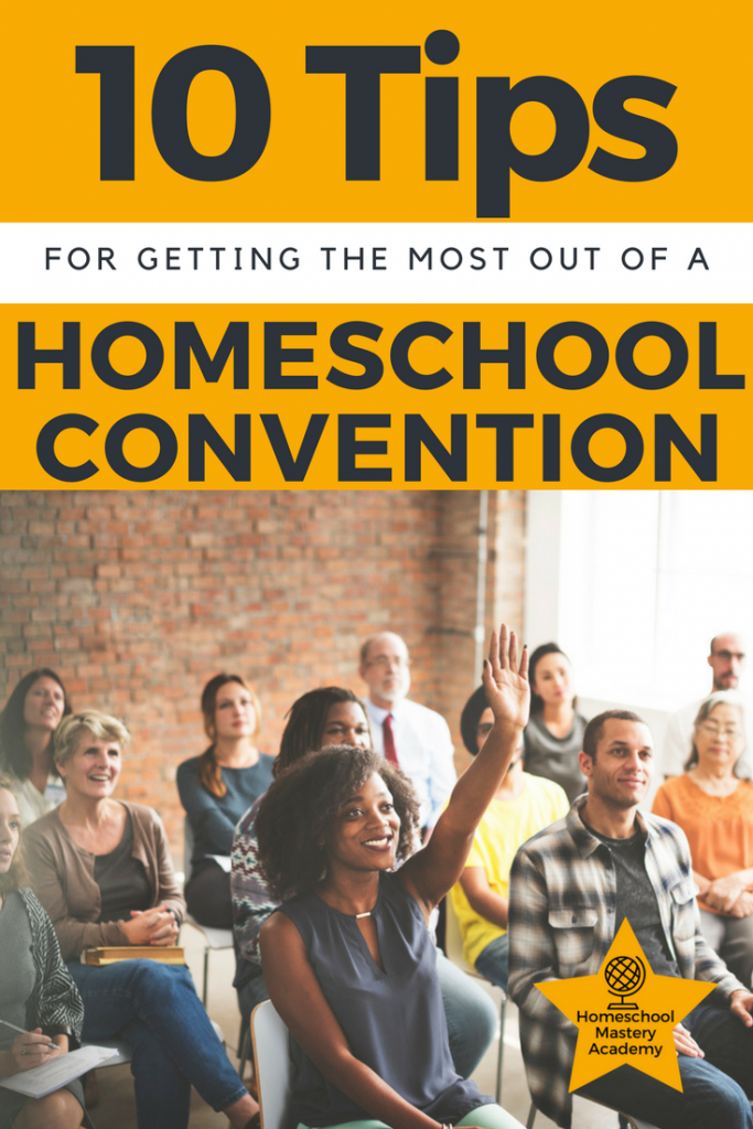 10 Tips for Getting the Most Out of a Homeschool Convention