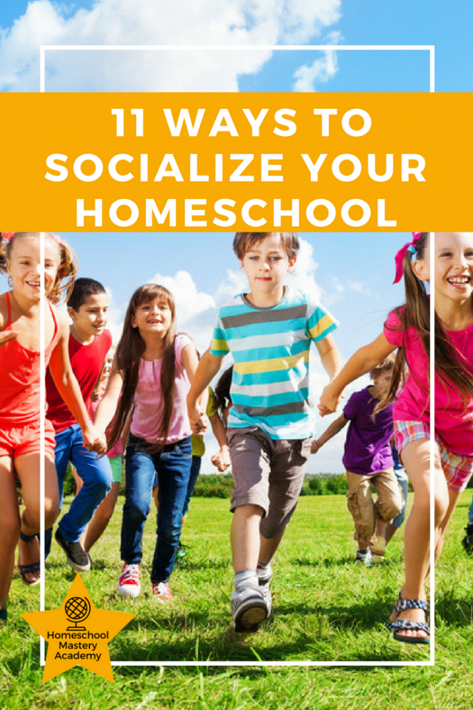 11 Ways to Socialize Your Homeschool