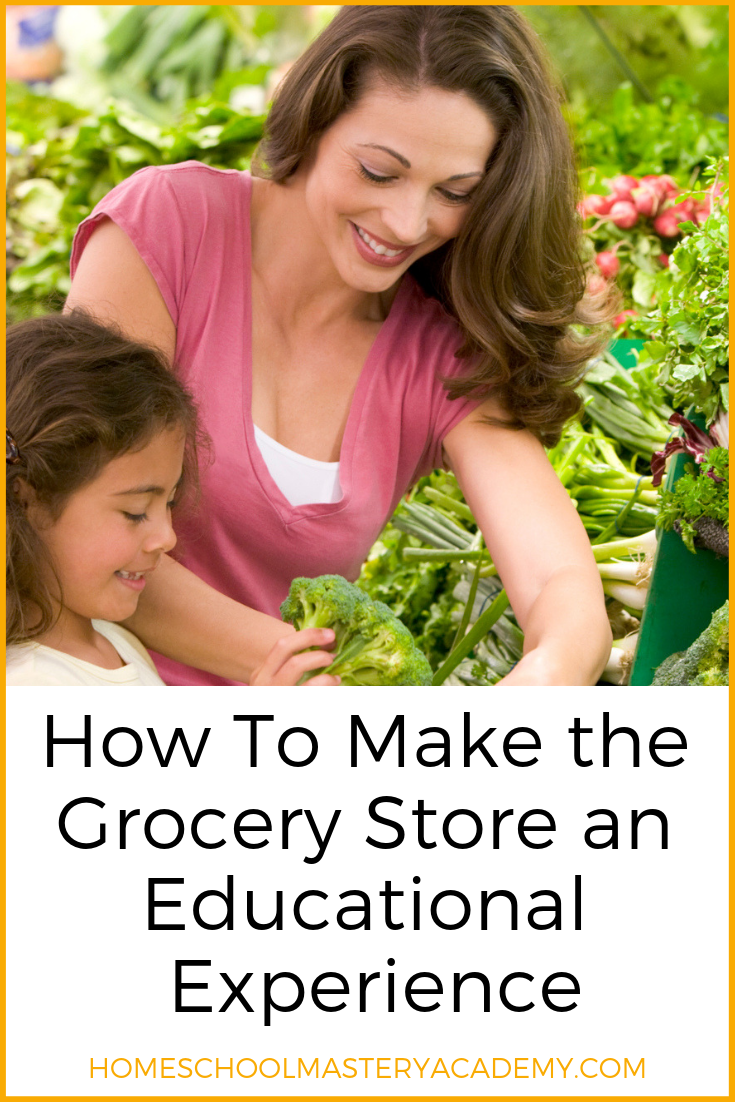 grocery store homeschool