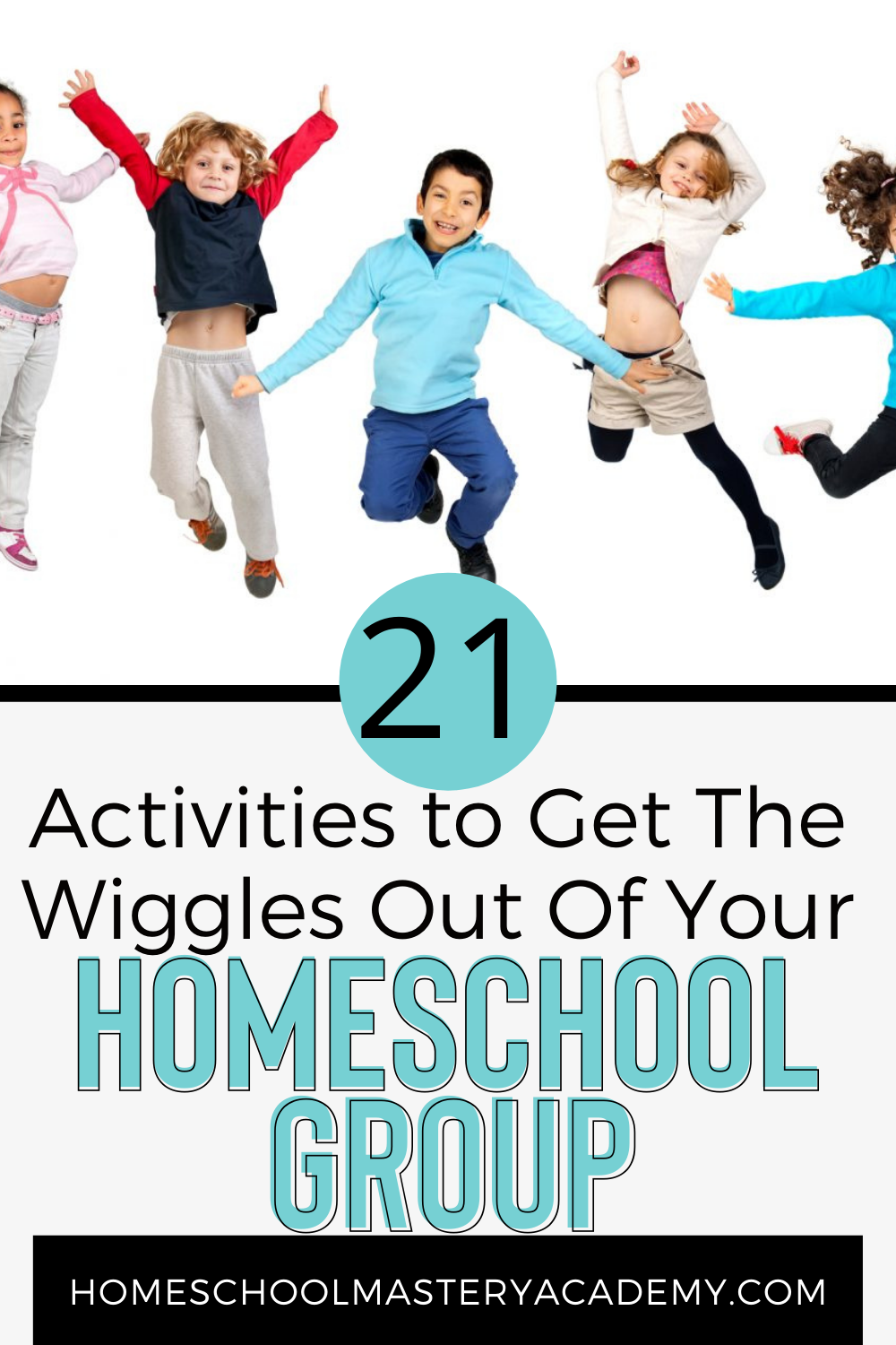 Grab the FREE PDF List >>>Here is a list of activities that will get the wiggles out of your homeschool group before you begin a lesson! #homeschool #homeschoolgroup #homeschoolprintables