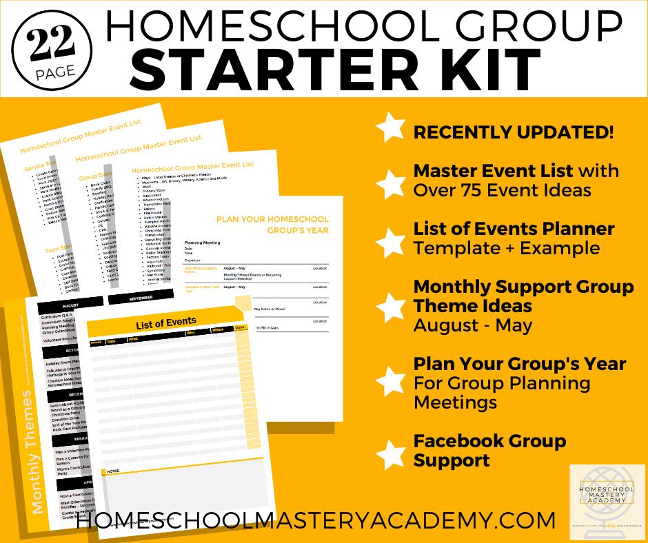 Start a Homeschool Group