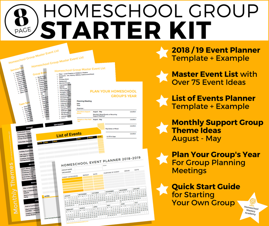 Start Homeschool Group