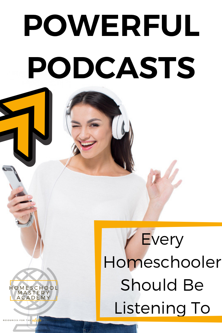 homeschool podcasts