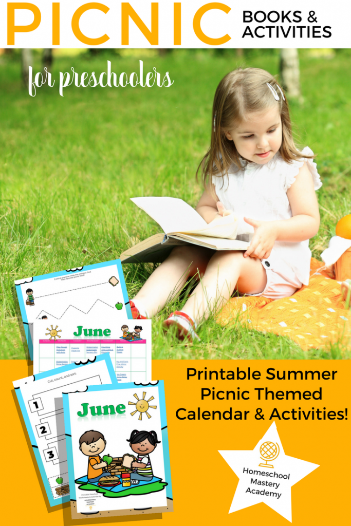 Summer Picnic Books and Activities for Preschoolers