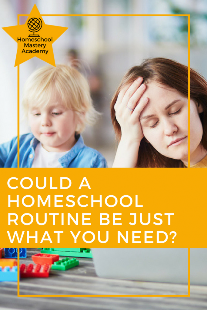 Could a Homeschool Routine Be Just What You Need?