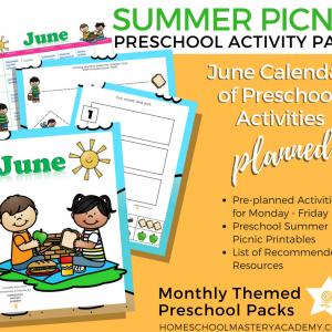 Summer Books and Activities for Preschoolers