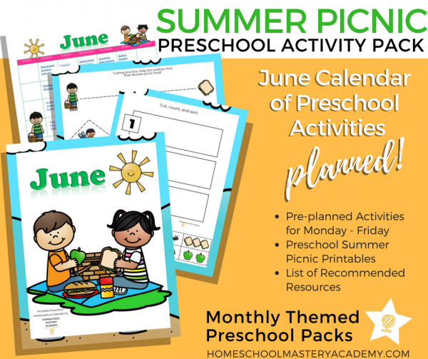 Summer Books and Activities for Preschoolers