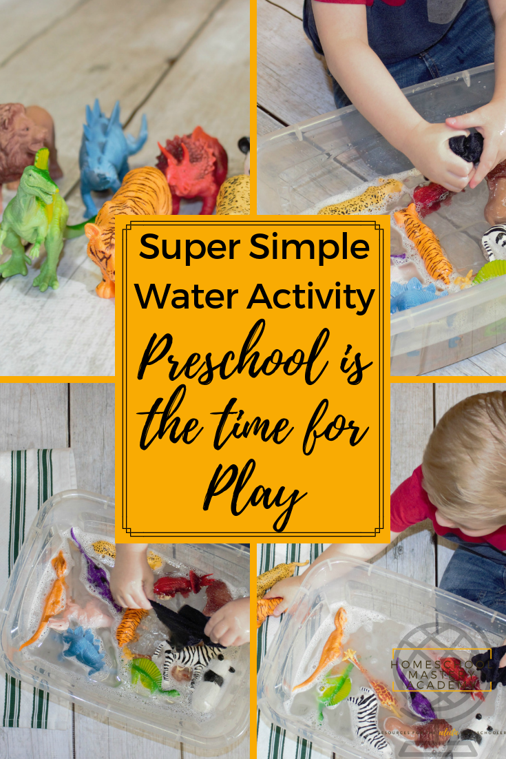 water activity preschool