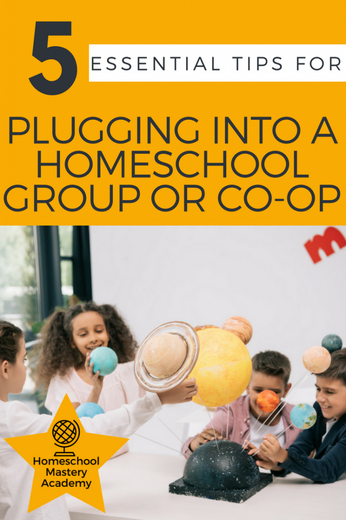 5 Essential Tips for Plugging into a Homeschool Group or Co-op