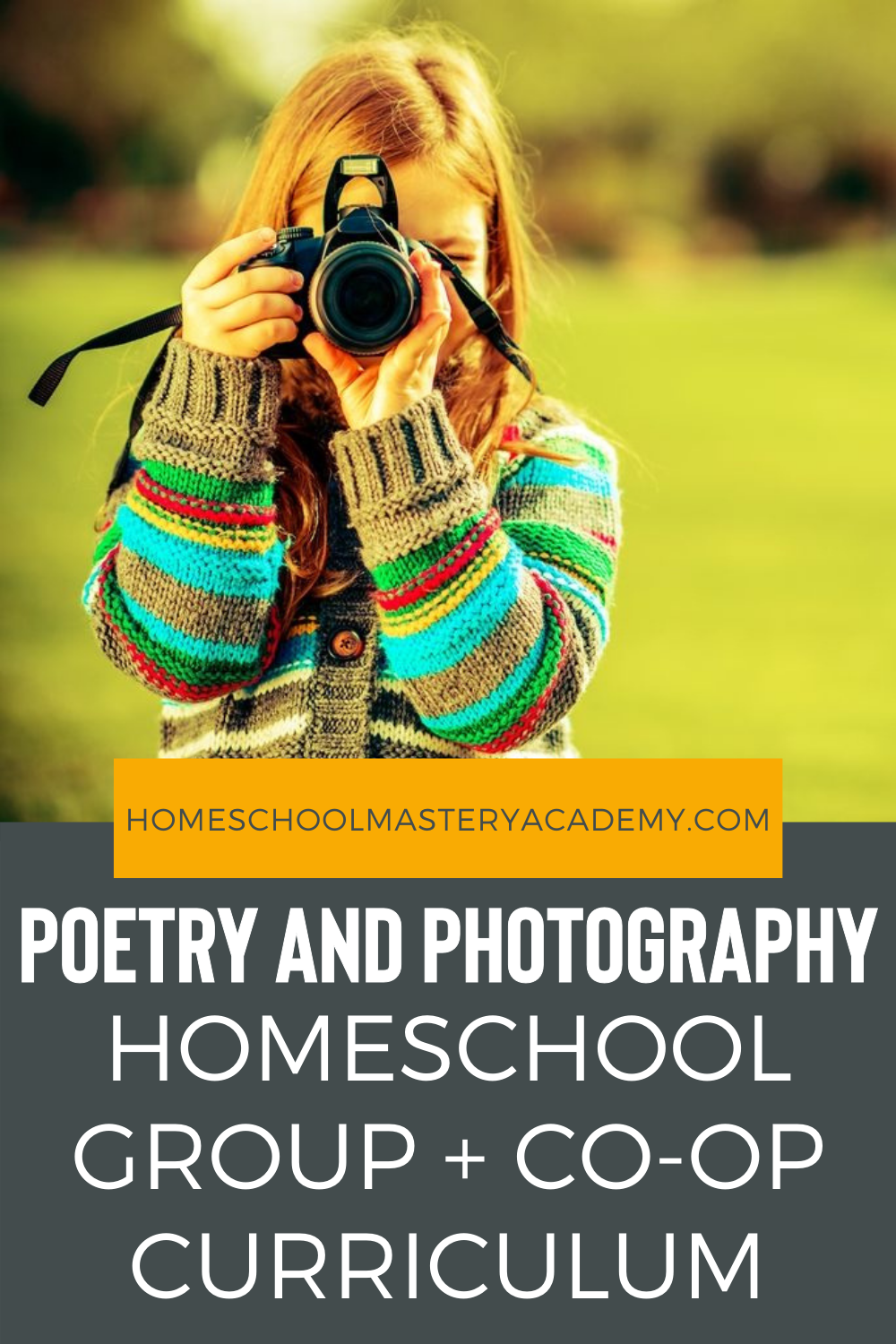 Enjoy this fantastic, easy to follow curriculum with your homeschool group or co-op. Students love this innovative approach to combining poetry and photography! #homeschool #homeschoolcurriculum #homeschoolgroup #homeschoolcoop