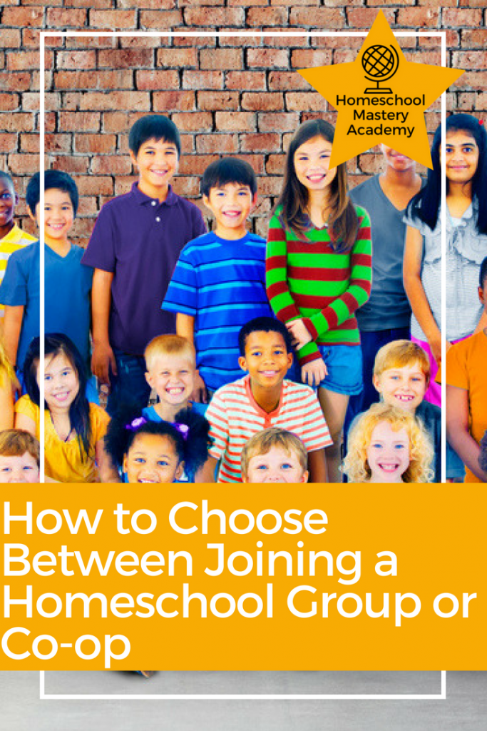 How to Choose Between Joining a Homeschool Group or Co-op
