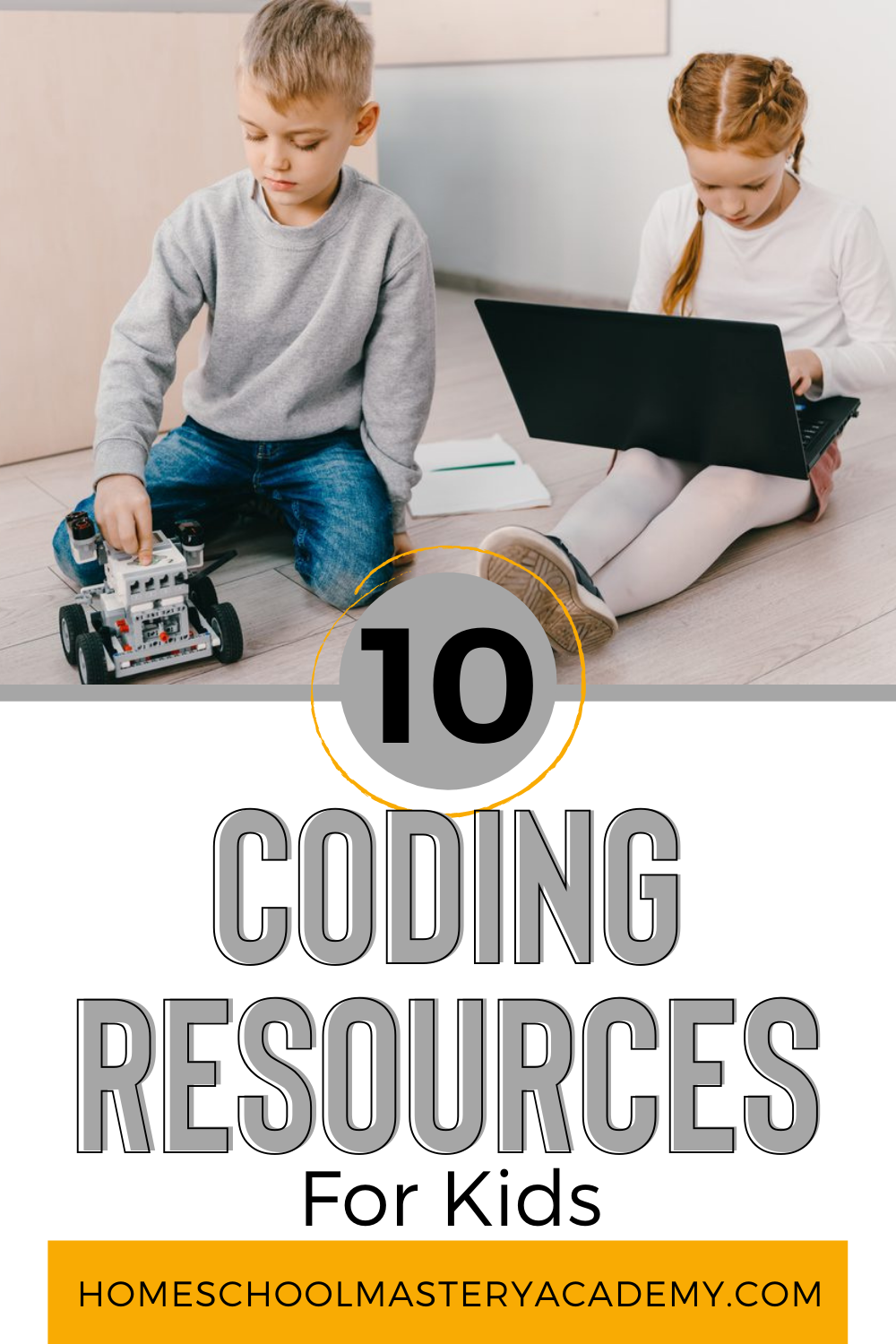 Our kids can have a huge advantage if they start learning how to code at an early age. Here are 10 resources for kids to start coding. #coding #codingforkids #kidscode #codinggames #homeschool