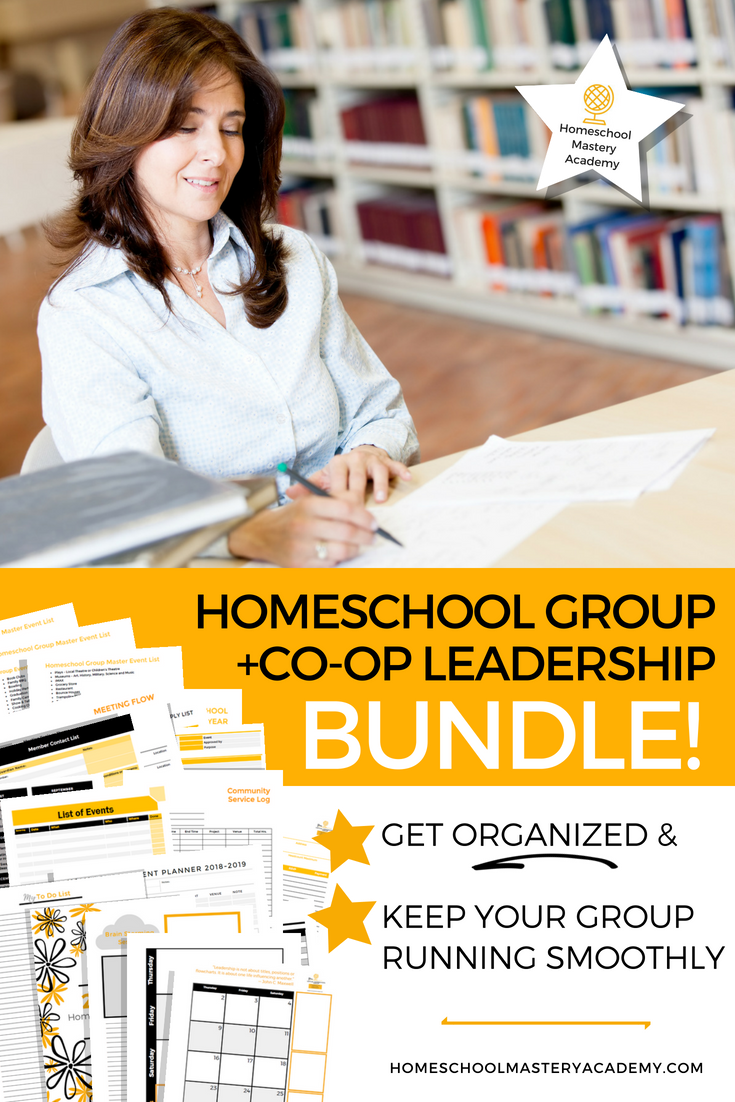 Homeschool Group + Co-op Leadership Bundle