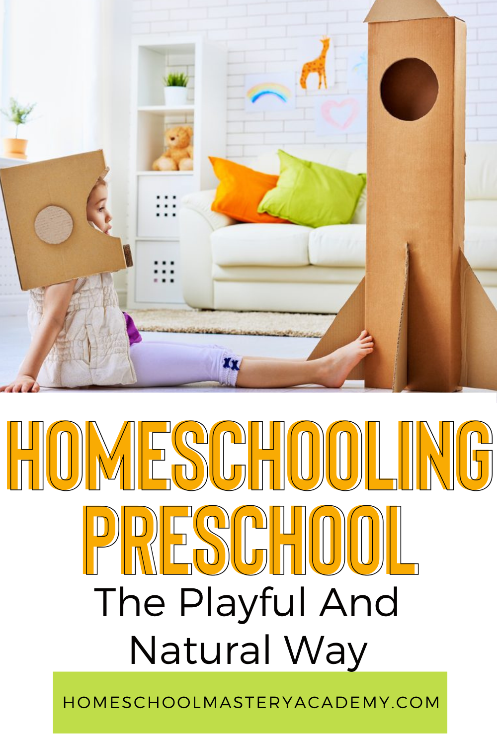 Homeschooling preschool shouldn't be stressful at all, for you or your child. We have some wonderful ideas for a relaxed but productive way to naturally homeschool preschool at home. And, it isn't costly at all! #homeschool #preschool #preschoolathome #prek #homeschool