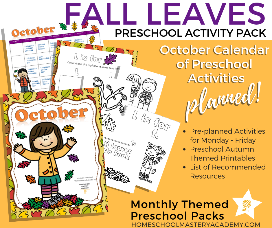 Learn outdoors and in with hands-on activities, crafts, and engaging children's literature all about autumn!