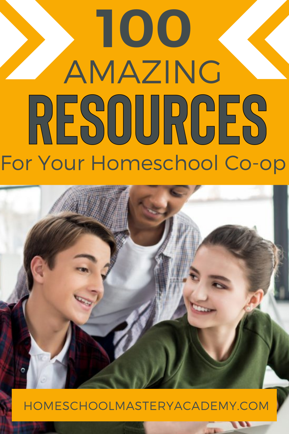 100 Homeschool Co-op and Resource Ideas - Homeschool Group Curriculum, Courses, Books, Activities and More! #homeschoolgroup #homeschoolcoop #homeschool #homeschoolideas