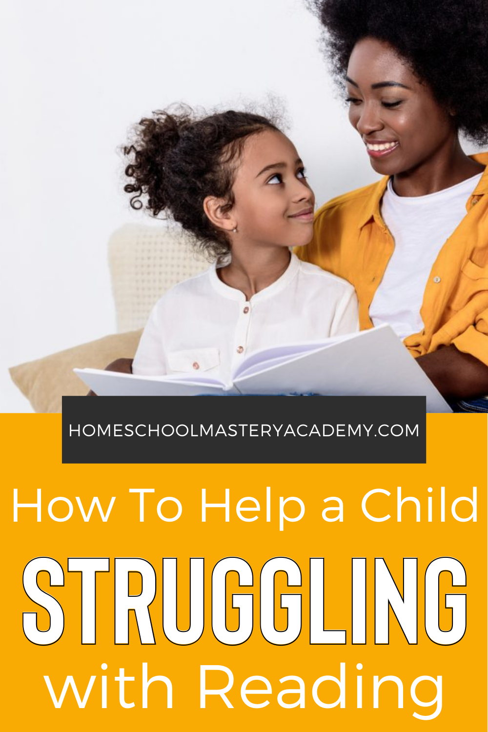 How to Help a Child Struggling with Reading - Tips, Ideas and Gifts to Encourage Them! #homeschool #learntoread #homeschooltips #reading