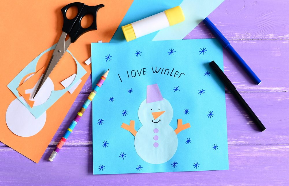 Snowman Crafts Preschool
