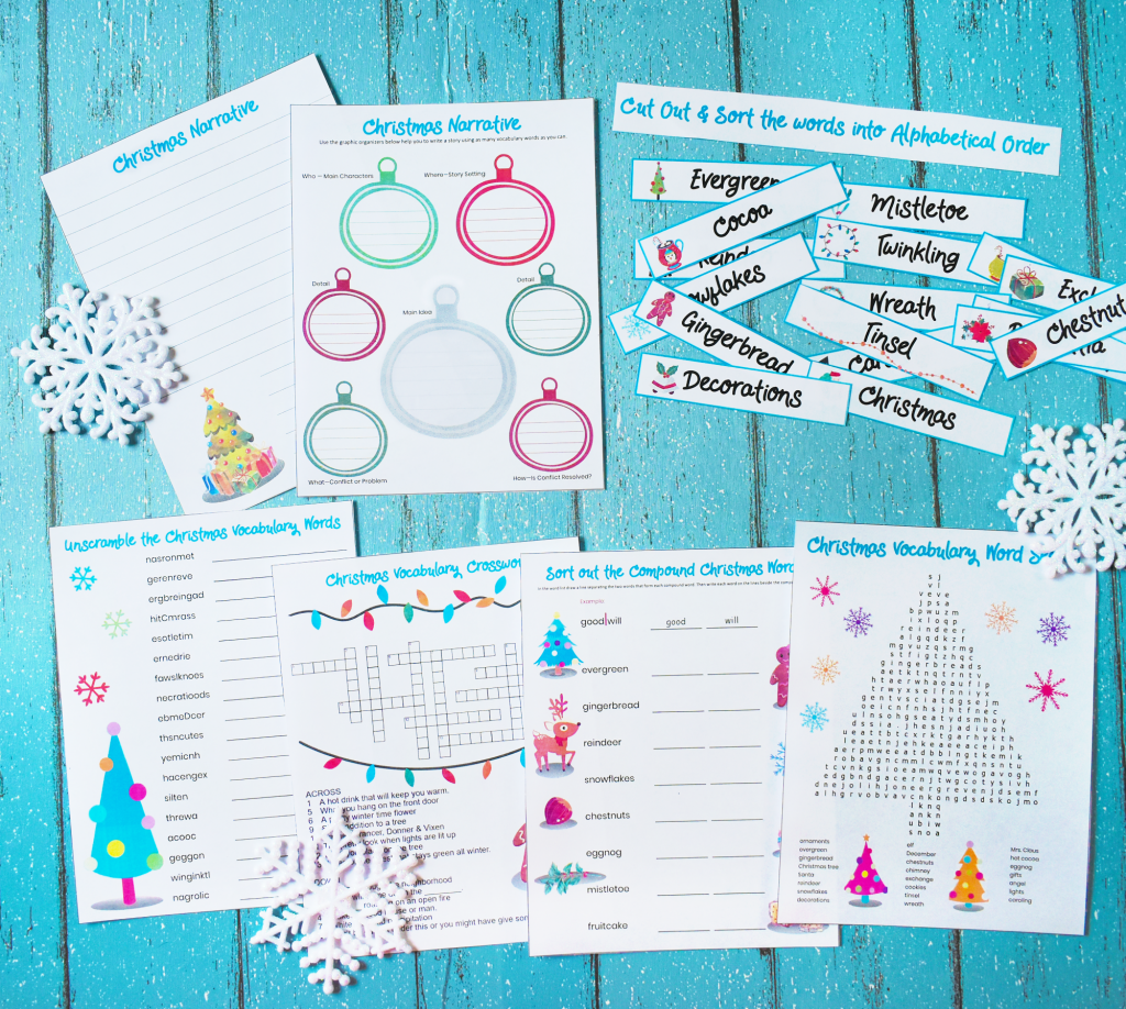Creative Story Telling Printable Bundle for Christmas