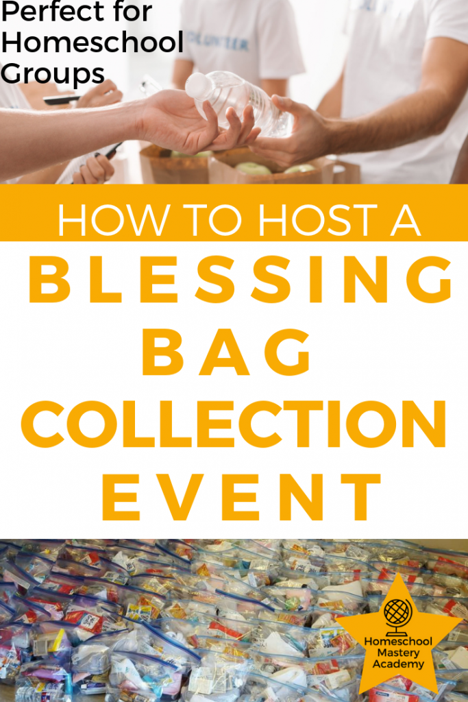 How to Host a Blessing Bag Collection Event
