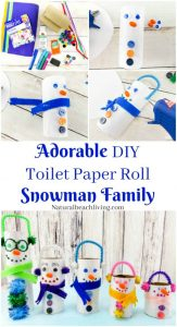 13 Super Simple Snowman Crafts for Preschoolers to Make