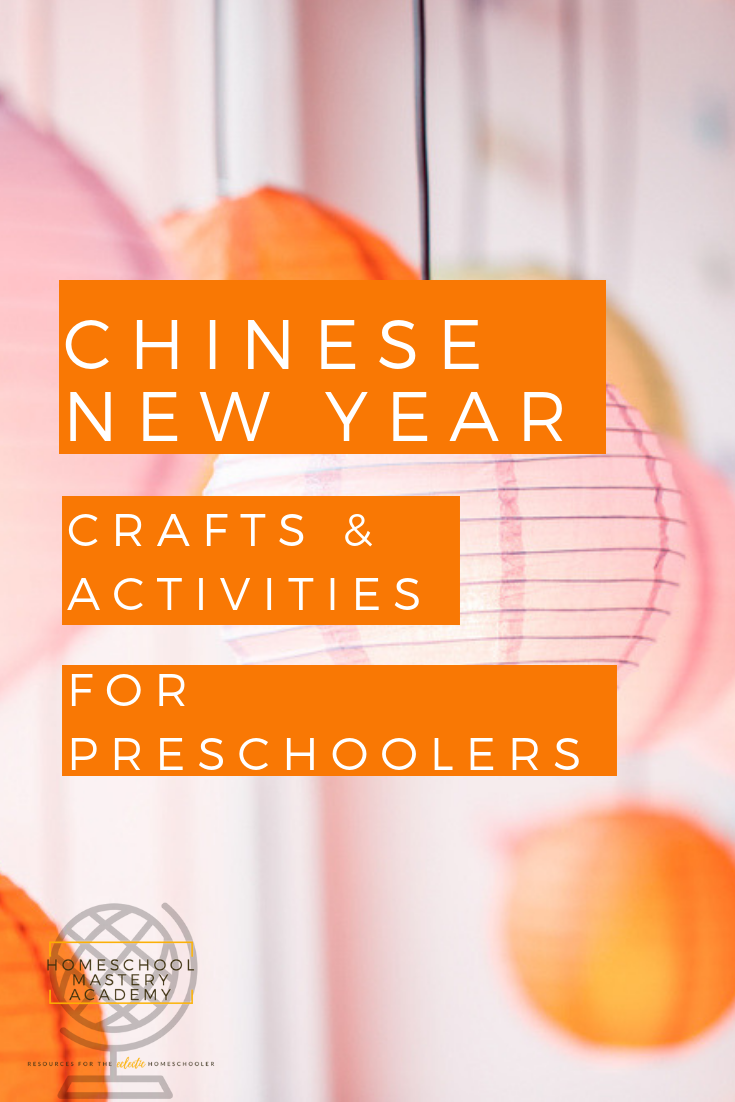 Chinese New Year Crafts and Activities for Preschoolers