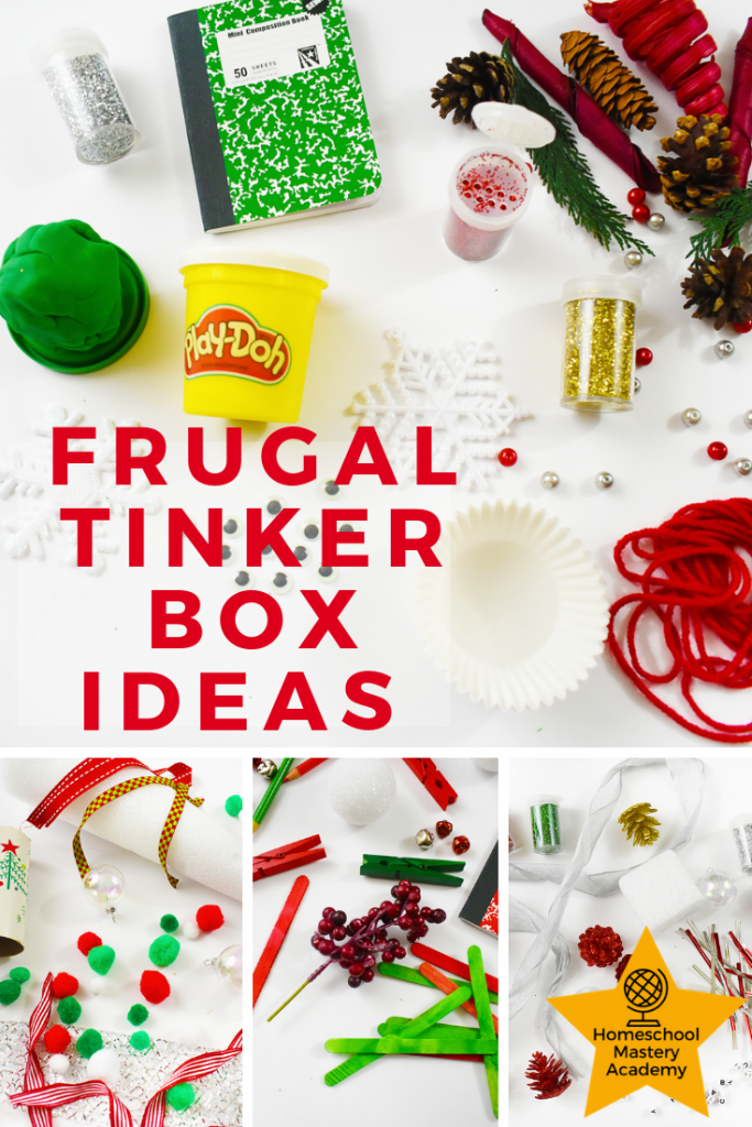 Make Frugal Tinker Boxes for Your Curious Preschooler
