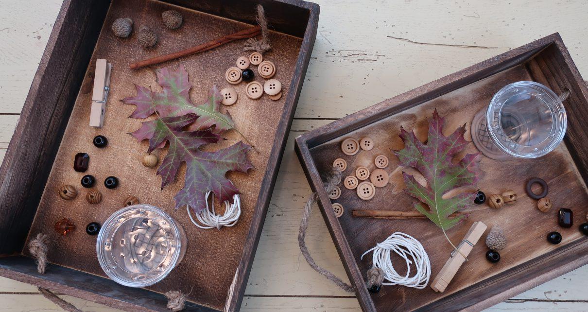 Winter Nature Tinker Box