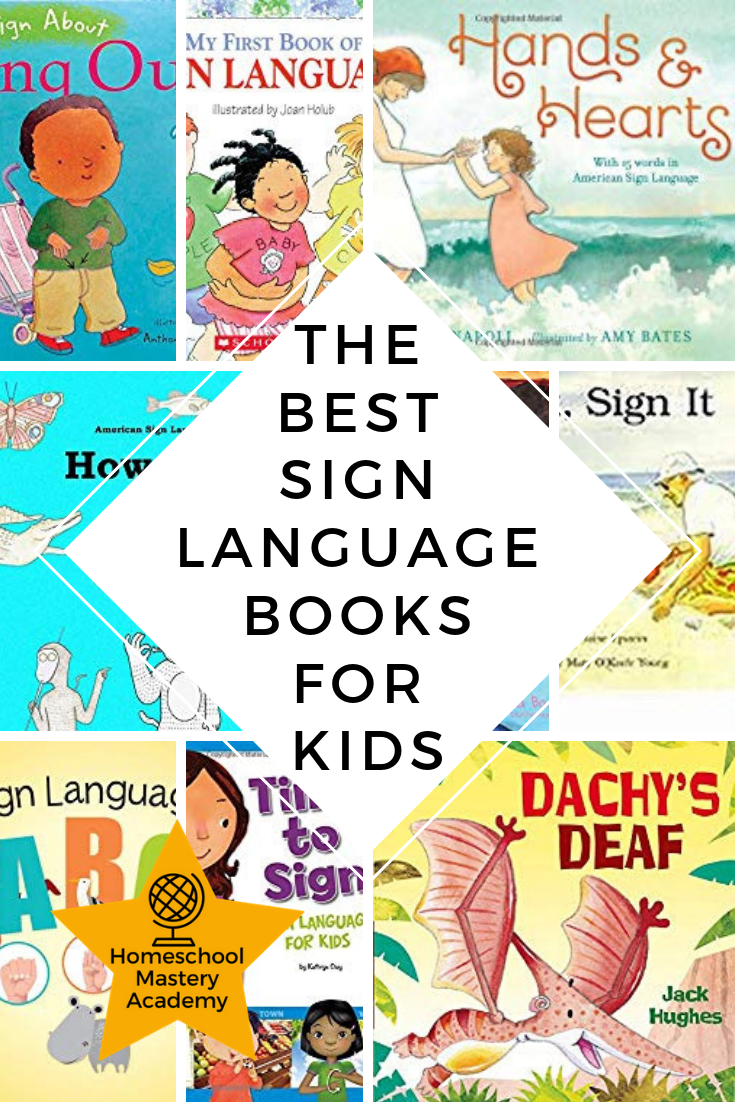 10 of The Best Sign Language Books for Kids