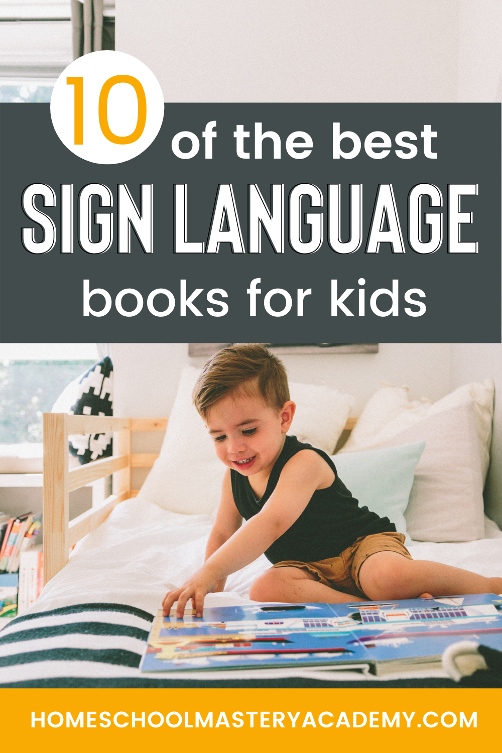 sign language books for kids