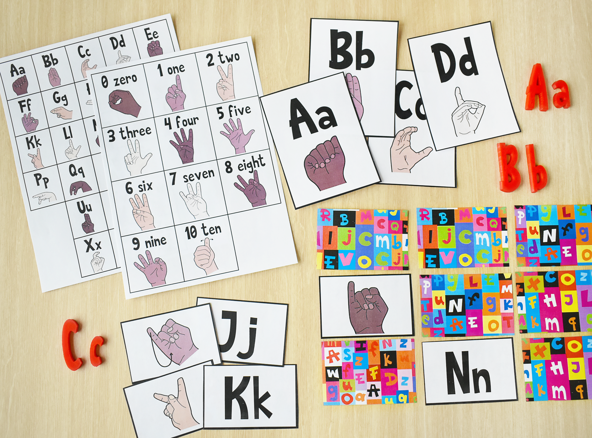 American Sign Language + Preschool Blended Learning Course