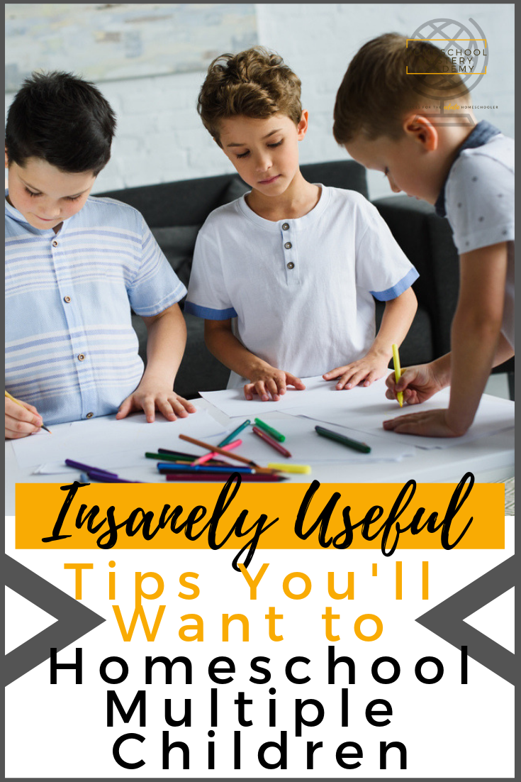 Tips You'll Want to Homeschool Multiple Children