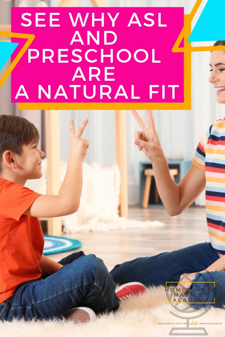 asl for preschool