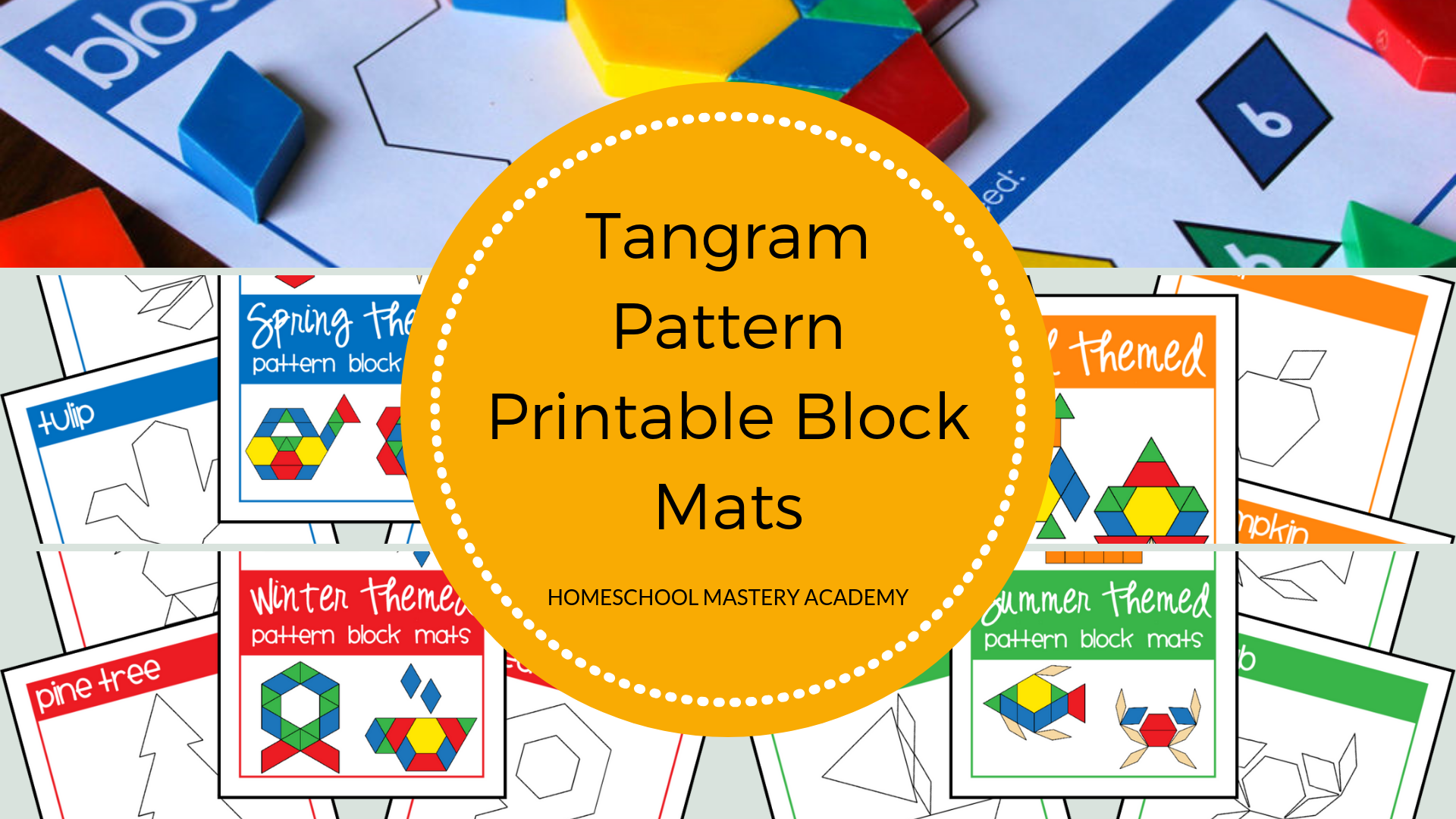 graphic relating to Printable Tangram titled Crank out Exceptional Tangram Behaviors upon Vivid Printable Block Mats